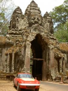 At Anghor Wat