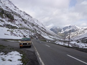 Austrian mountain pass