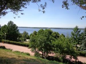 Samara Volga view