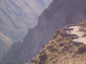 Colca Canyon and the Mirador (viewing area)