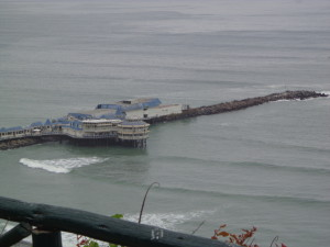 Lima - the Pier and the Pacific