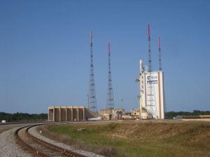 Ariane 5 Launch area