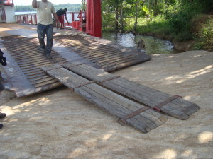 The loading ramp