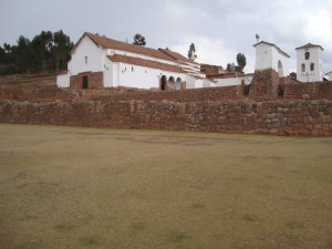 Chinchero - Spanish Church on Inca base