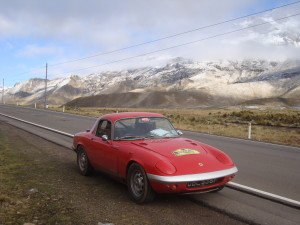 4300 metres - and safely out of Cusco District