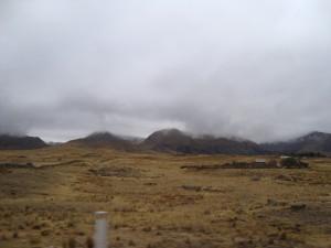 The bleak high plateau
