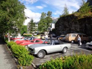 Reserved Car Park