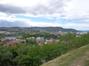 Trondheim from the Festung