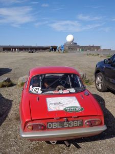 Elan at Nordkapp visitor centre