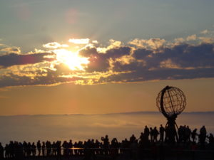 North Cape Midnight Sun