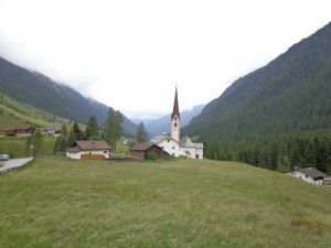 Austrian Alpine Village
