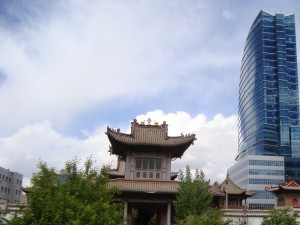 Ulan Bator old and new on June 1