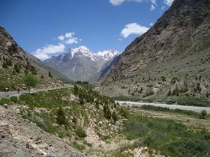 Picture postcard landscape