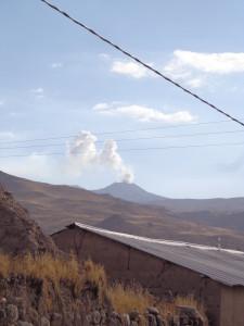 Sabancaya volcano