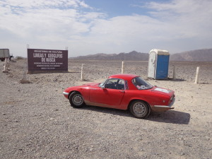 Is this the first Lotus to get to the Nazca Lines?