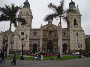 Lima - the Cathedral