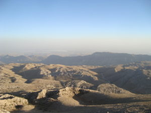 Early evening view from Mt Nemrut